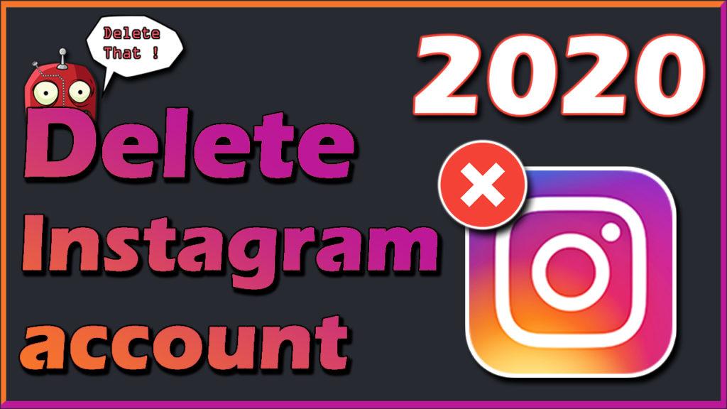 instagram delete